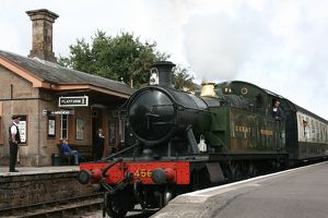 Williton station, West Somerset Railway, UK