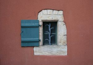 Window, Laufenburg, Switzerland