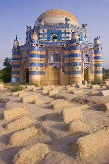 15th century Mausoleum of Bibi Jawindi, Uch Sharif, Pakistan