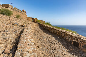 new/20191004 awl 3/africa cape verde santiago entrance fortress