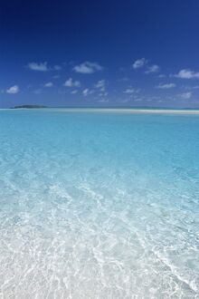 Aitutaki Lagoon, Aitutaki, Polynesia / South Pacific, Cook Islands