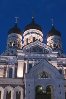 Alexander Nevsky Church, Tallinn, Estonia