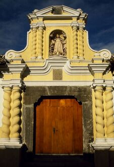 Some of Antigua's small churches excel in decorative
