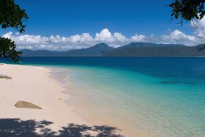 Beach on Fitzroy Island, Queensland, Australia