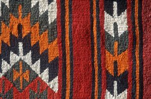 Bedouin carpet