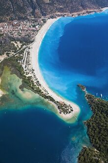 Blue Lagoon and Belcekiz beach