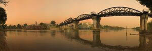 Bridge on the River Kwai over Mae Nam Khwae Noi