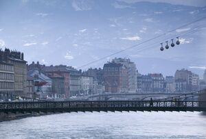 Cable Car, Grenoble, Isere, France