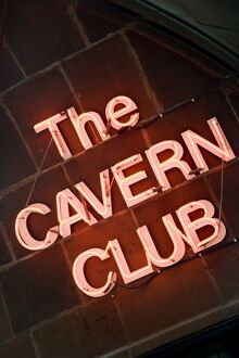 The Cavern Club at 10 Mathew Street, Liverpool. England, UK