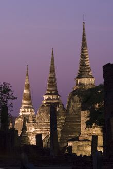 Three Chedis of Wat Phra Si Sanphet