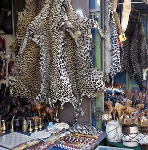 Despite a worldwide ban on trade in leopard skins