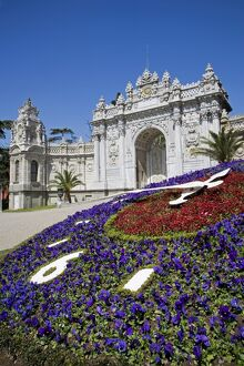 The Dolmabahce Palace in Istanbul