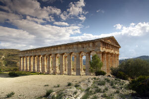 new/20191004 awl 6/doric greek temple segesta sicily italy