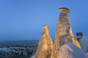 Fairy chimneys known as 'The Three Beauties'