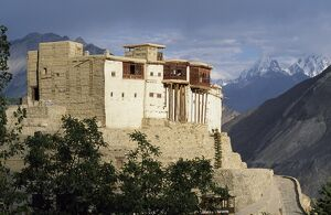 The famous 19th-century Baltit Fort towers over the