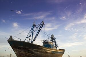 Fishing Boat, Essaouira, Atlantic Coast, Morocco