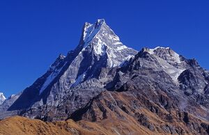The fishtail peak of Machhapuchhare (6