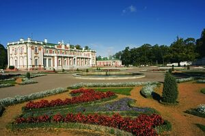 Flower Garden in Kadriorg Palace built between 1718-36