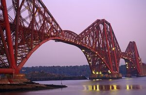 The Forth Rail Bridge, Firth of Forth, Edinburgh, Scotland
