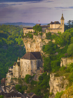 new july 2019/france lot midi pyrenees rocamadour natural