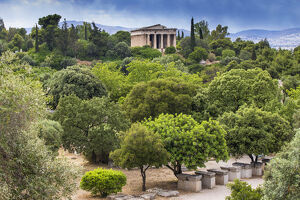new/20191004 jai 3/greece attica athens view agora temple
