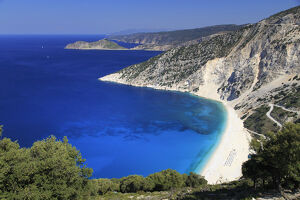 new/20191004 jai 3/greece ionian islands kefalonia myrtos beach