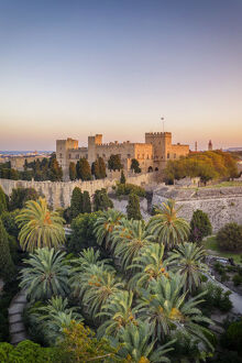 Greece, Rhodes, Rhodes Town, Palace of the Grand Master of the Knights