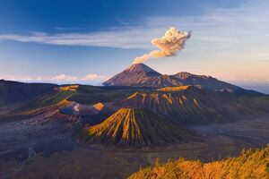 Gunung Bromo Crater from Mt