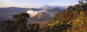Gunung Bromo Crater, viewed from Mt