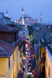 Hagia Sophia, Sultanahmet District, Istanbul, Turkey