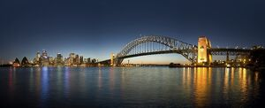 Harbour bridge, Sydney, NSW, Australia