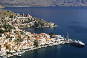 Harbour, Symi Town/Gialos, Symi, Greece
