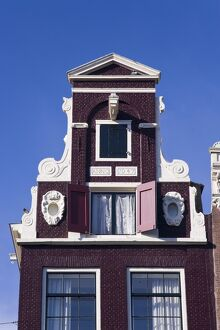 Holland, Amsterdam, traditional Gabled houses