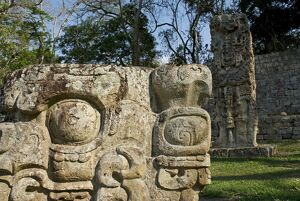Honduras, Copan, Maya Ruins of Copan, a UNESCO World Heritage Site