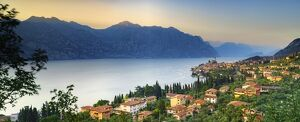 italy veneto verona district lake garda malcesine