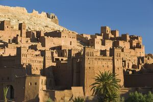 Kasbah, Ait Benhaddou, Atlas Mountains, Morocco, North Africa
