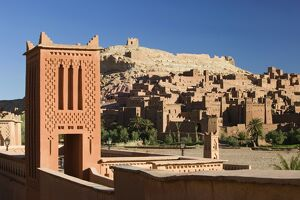 Kasbah, Ait Benhaddou, Atlas Mountains, Morocco