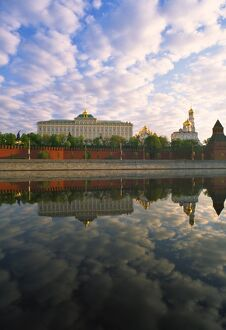 Kremlin and Moskva river, Moscow, Russia