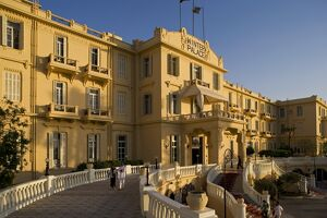 The luxurious Winter Palace Hotel in Luxor