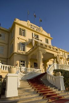 The luxurious Winter Palace Hotel in Luxor, Egypt