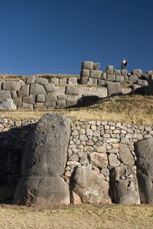 The Monolithic Inca fortress of Sacsayhuaman