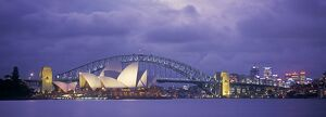 Opera House & Harbour Bridge, Sydney, New South Wales, Australia