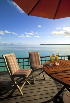 Pearl Beach resort, Akitua Motu, Aitutaki, Cook Islands