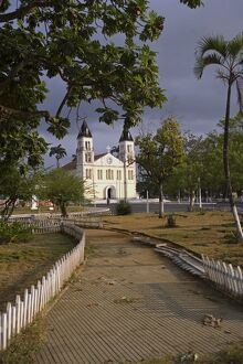 Sé Cathedral in the city of Sao Tomé