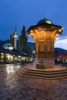 Sebilj (Moorish-style fountain)