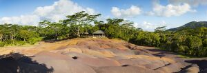 Seven Coloured Earths, Chamarel, Black River (Riviere Noire), Mauritius