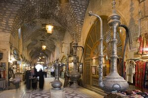 The Souq ash-Shouna in Aleppo