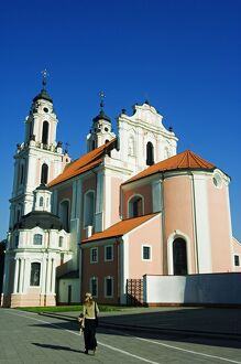 St Catherines Church part of Vilnius Unesco World Heritage Site
