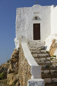 St. Ilias Hill and Church, Hora, Patmos, Greece