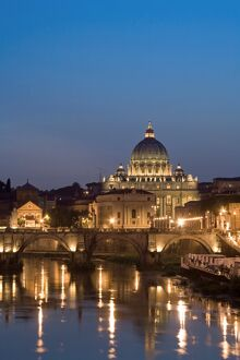 St Peter's Basilica and Ponte Sant'Angelo